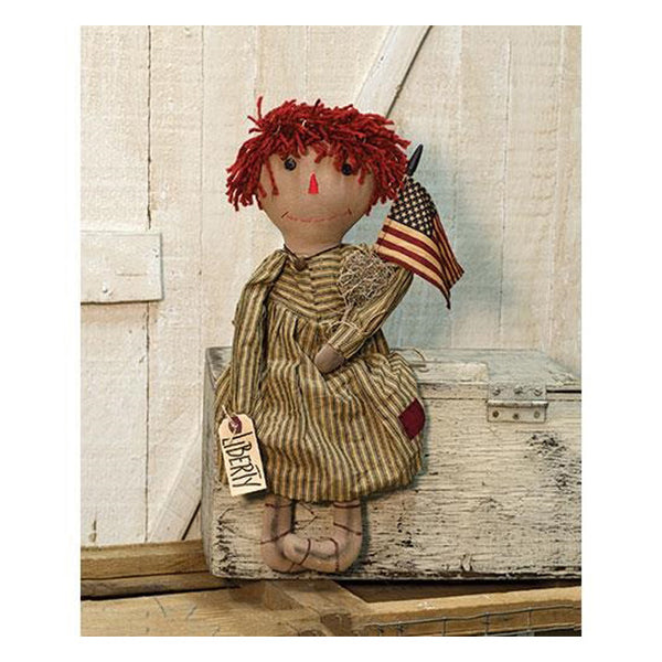 Liberty Annie Patriotic USA Doll