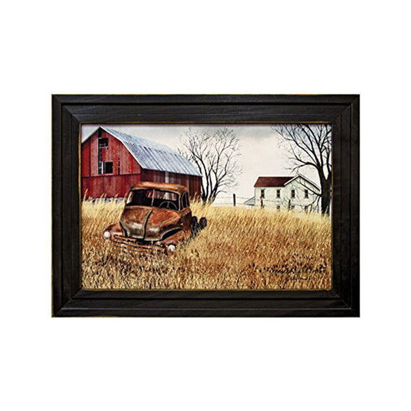 """Grandads Old Truck"" Country Barn & Farmhouse Framed Print"