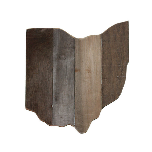 Rustic Ohio State Wood Pallet Small Wall Plaque