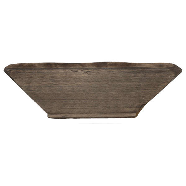 Decorative Wood Tray Bowl Accent - Catch all