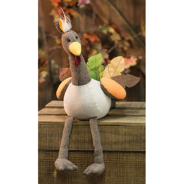 Stuffed Fabric Tom Turkey