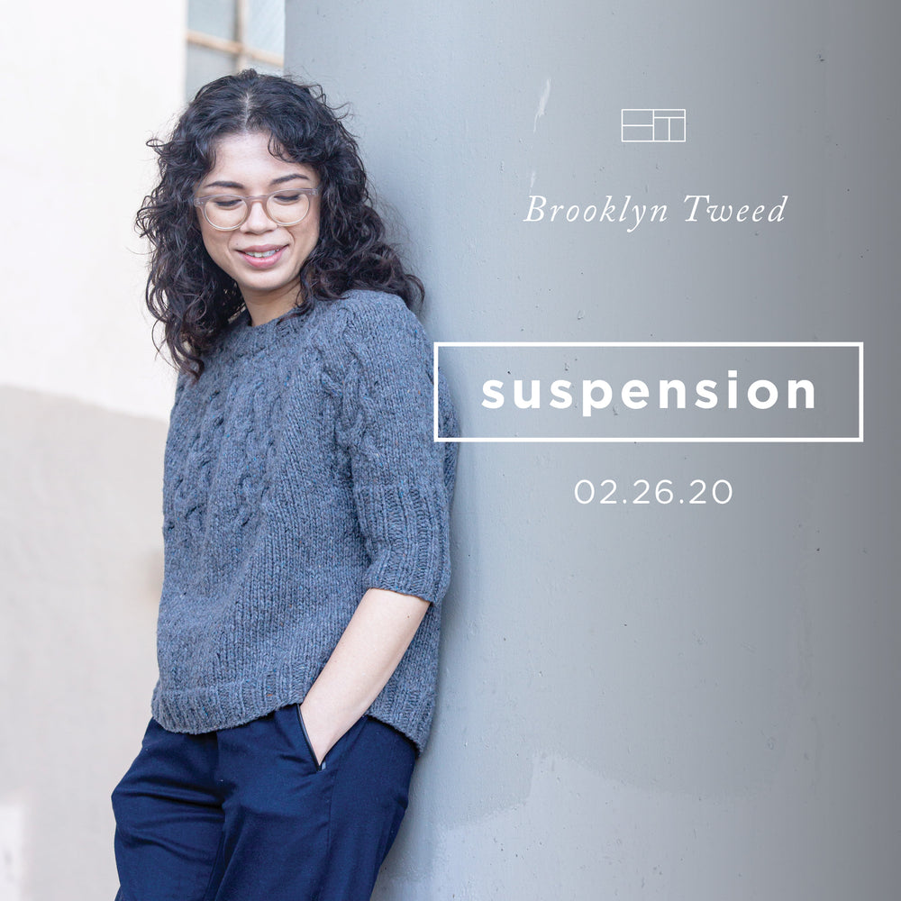 Brooklyn Tweed Bridge City: Suspension Trunk Show