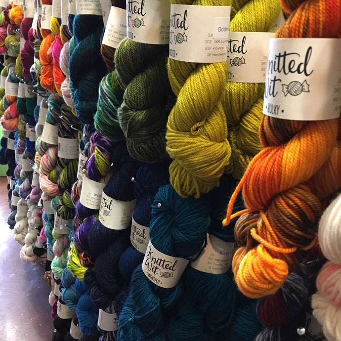 "Q&A: ""Do I have to use the recommended weight of yarn?"""