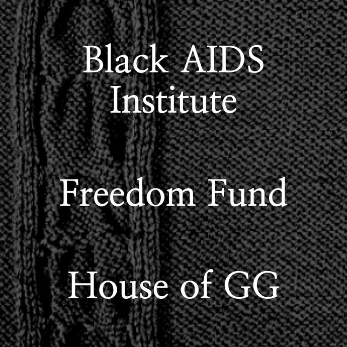 Black AIDS Institute, Freedom Fund, House of GG
