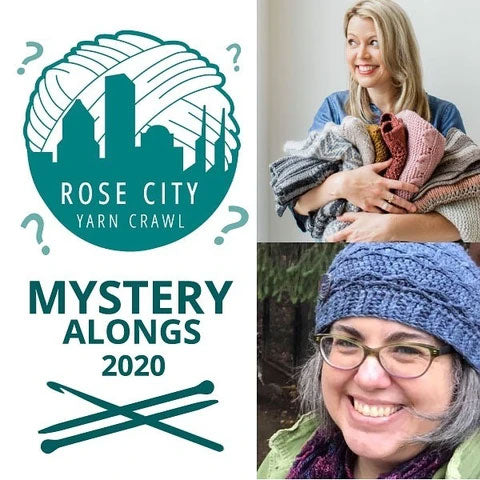 K12tog February Project - 2020 Rose City Yarn Crawl