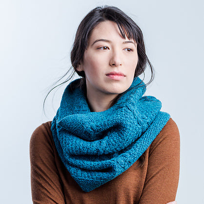 K12tog October Project - Furrow Cowl