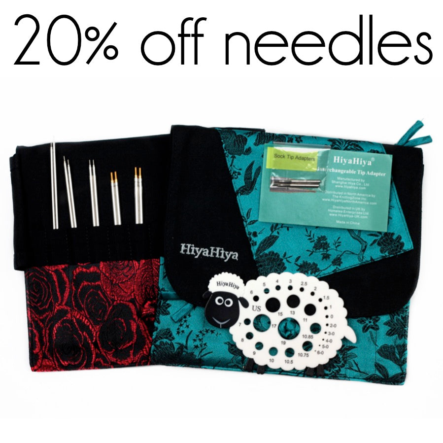 20% off needles