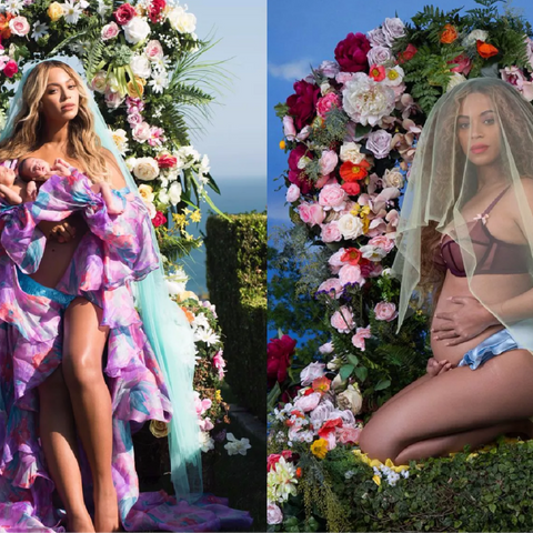 Beyonce's pregnancy and birth announcements blurred madonna/venus archetypes