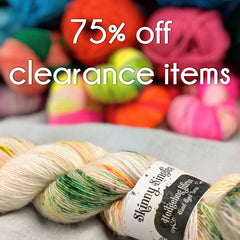 75% off clearance items