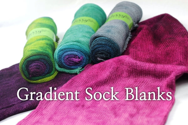 gradient sock blanks