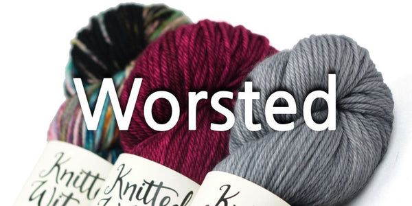 knitted wit worsted
