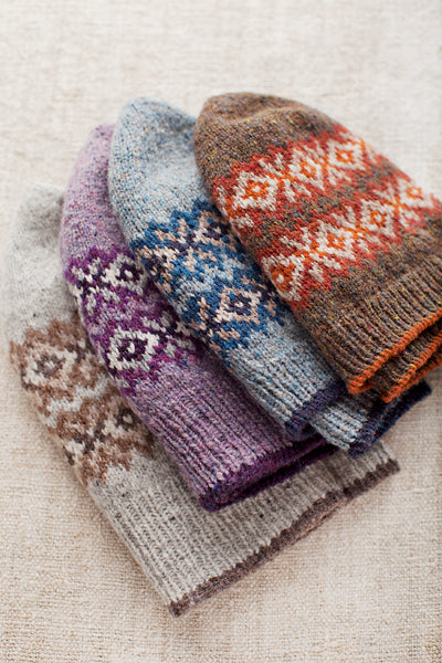 Seasons fair isle hats
