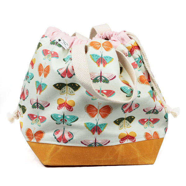 butterfly large project bag