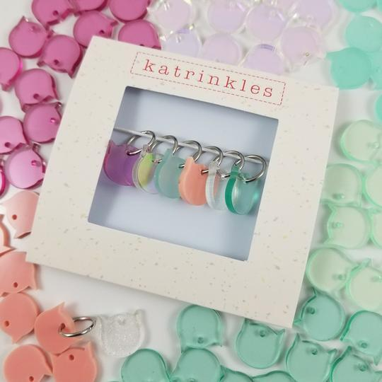 cat-trinkles stitch markers