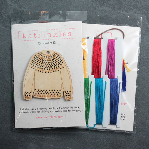 pullover sweater kit