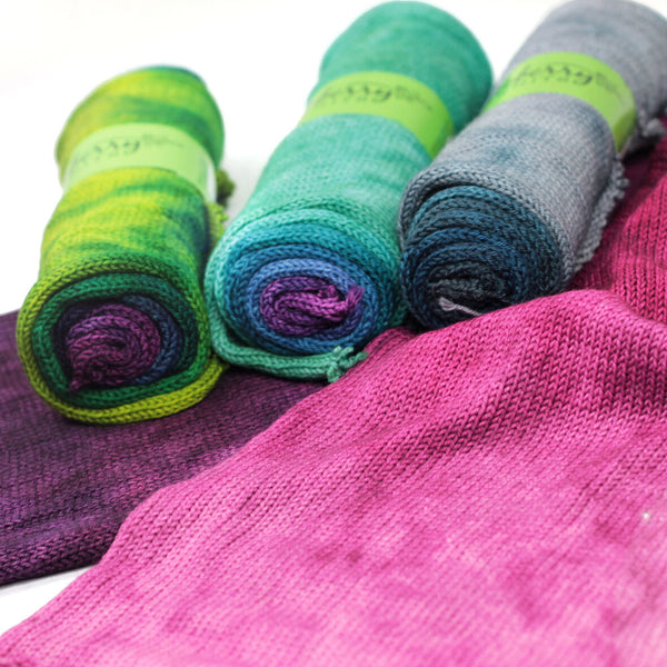 huckleberry knits gradient sock blanks