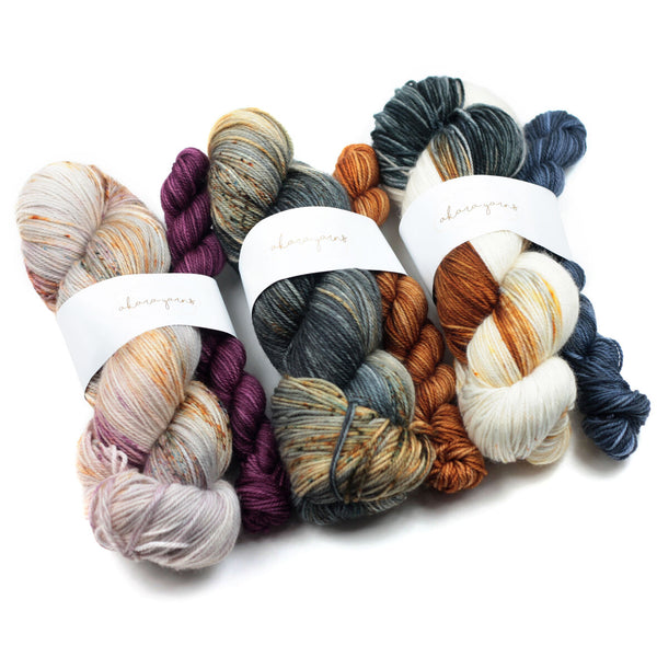 akara yarns merino sock sets