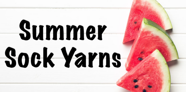 summer sock yarns
