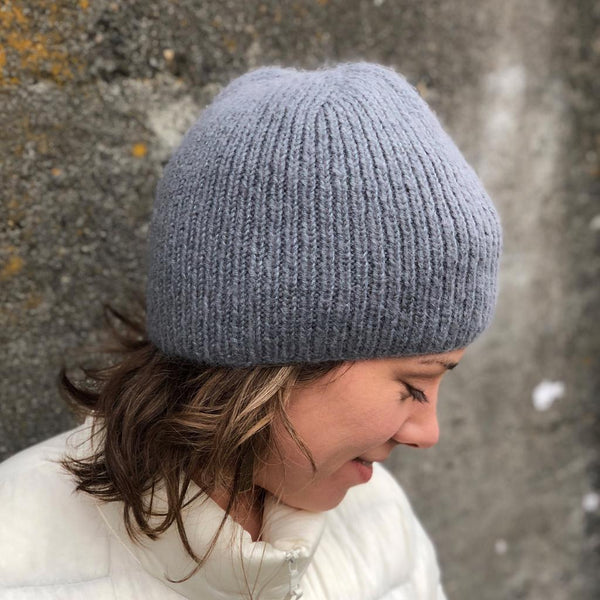mostly cloudy hat