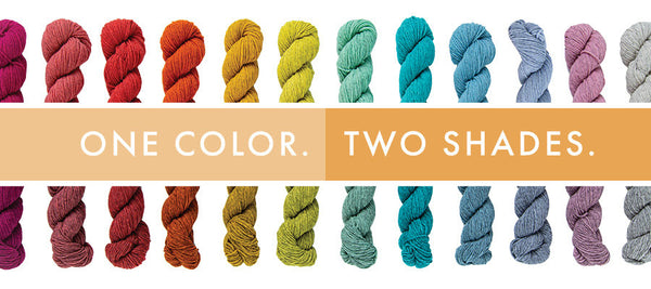 one color- two shades