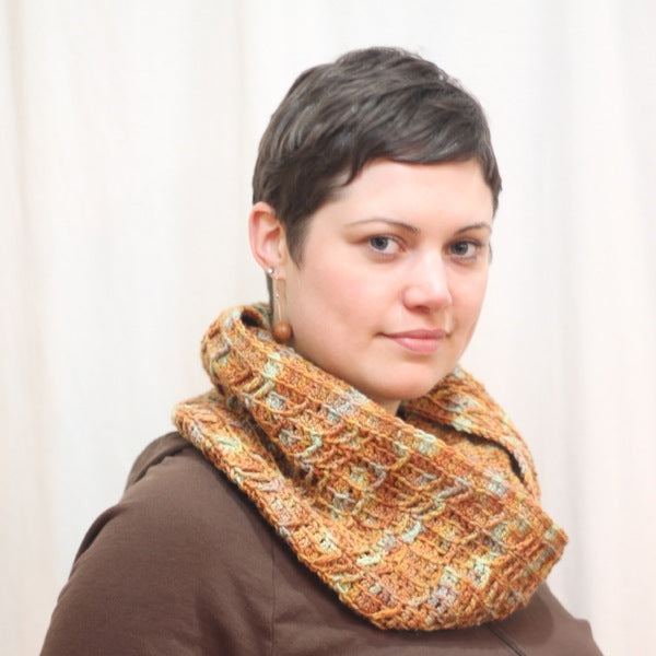 Sellwood Cowl (Crochet) - by Megan Parrish pattern by Twisted Pattern Line | Twisted