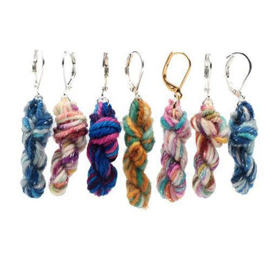 Mini Skein Earrings  by Ariel & The Bear | Twisted