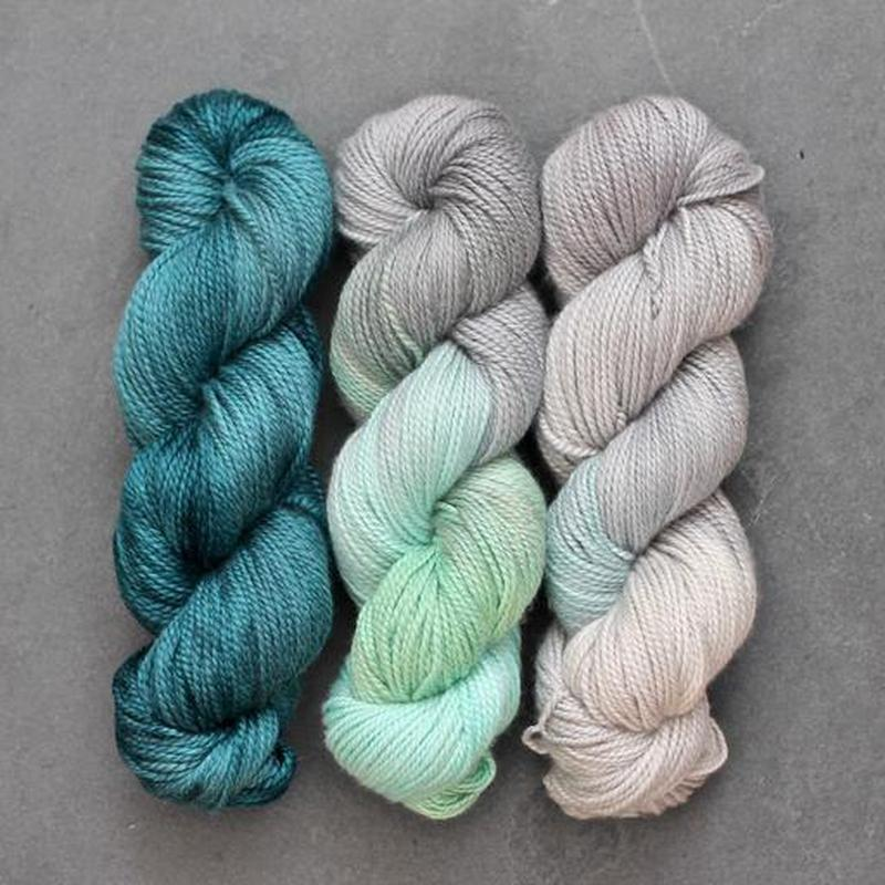 | Blue Moon Fiber Arts La Luna DK Yarn | Twisted