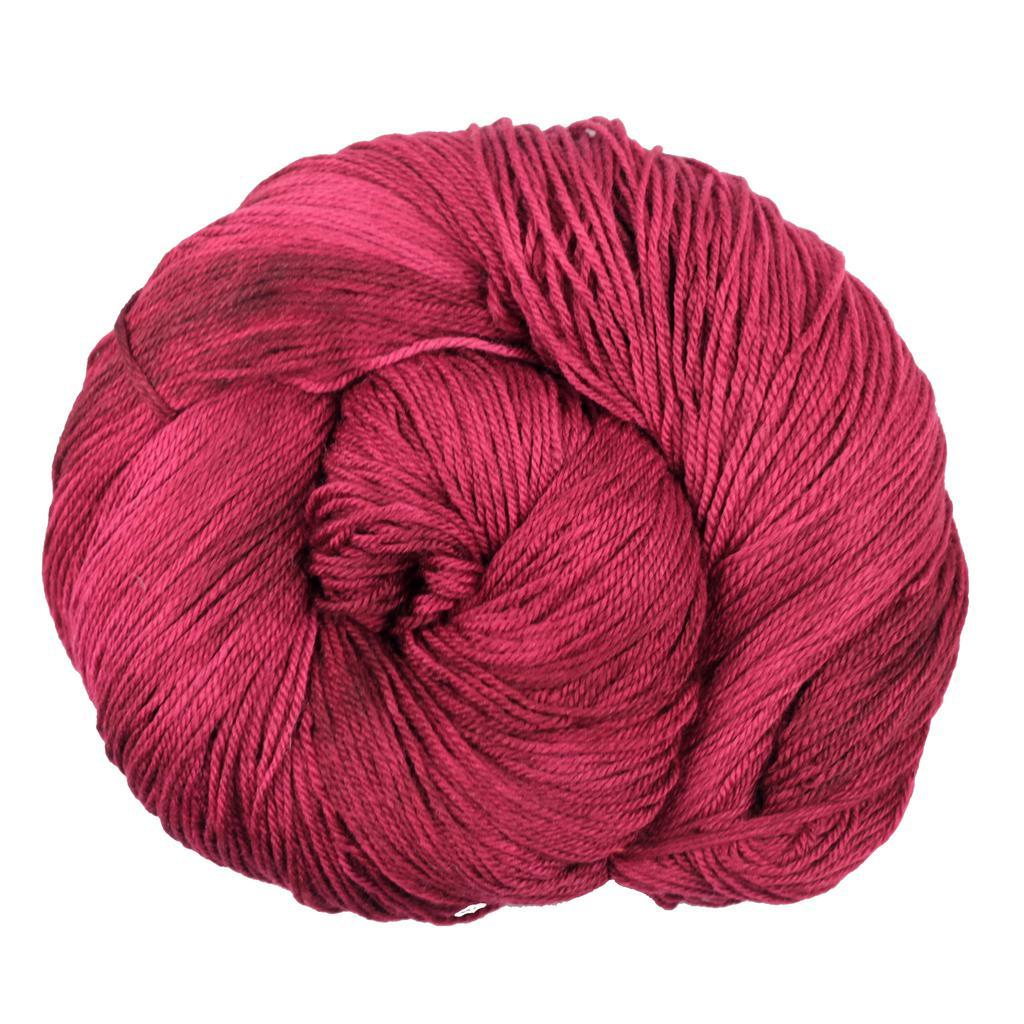 Cranberry Bogged | Blue Moon Fiber Arts Silky Victoria Yarn | Twisted