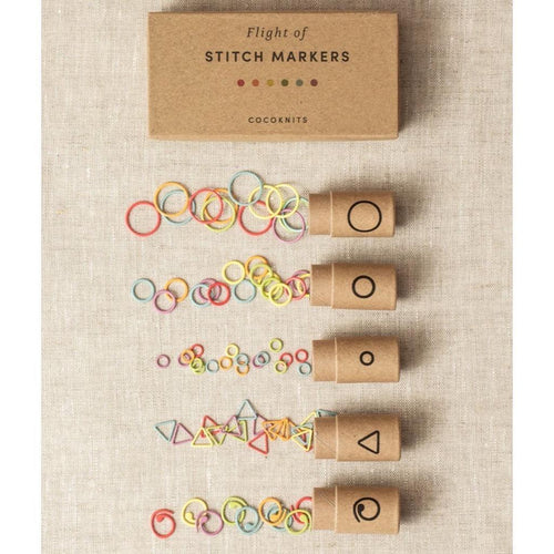 | Flight of Stitch Markers from Cocoknits | Twisted
