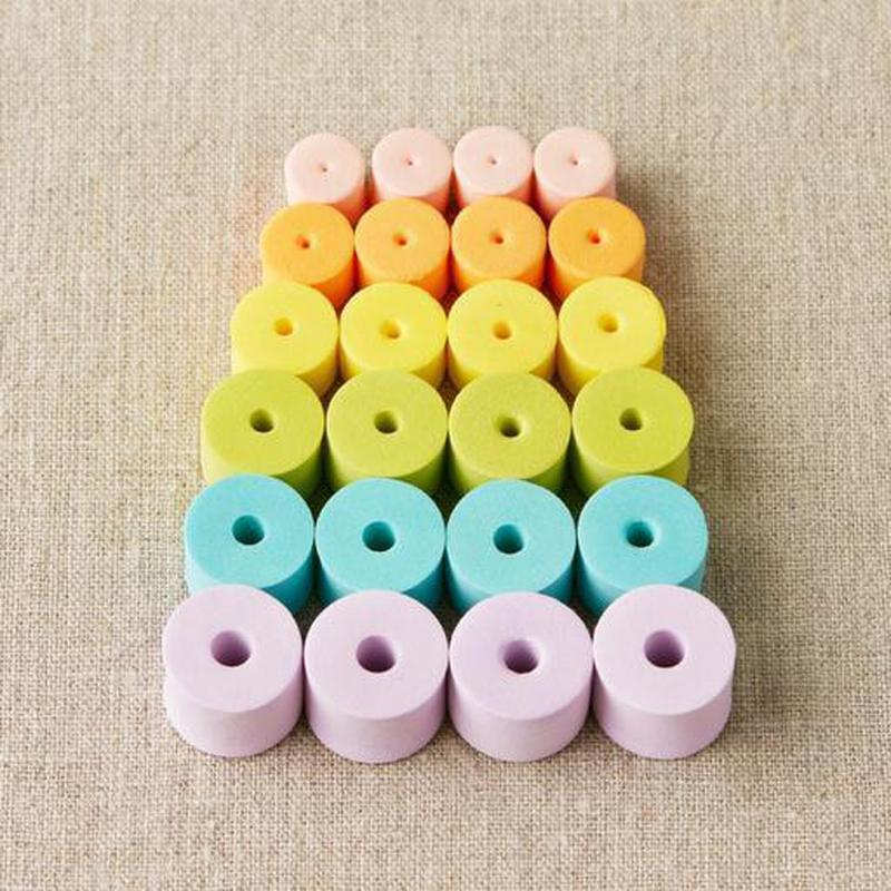 Colorful | Stitch Stoppers from Cocoknits | Twisted