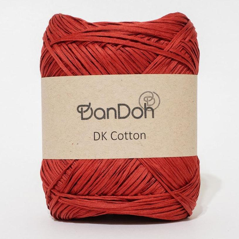 4 Bordeaux | DanDoh DK Cotton Yarn | Twisted