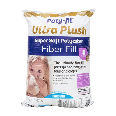 Default | Soft Touch Poly Fil Supreme Bag 8oz from Fairfield Fiber | Twisted