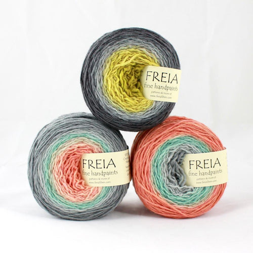 | Freia Fine Handpaints Ombre Fingering Shawl Ball Yarn | Twisted