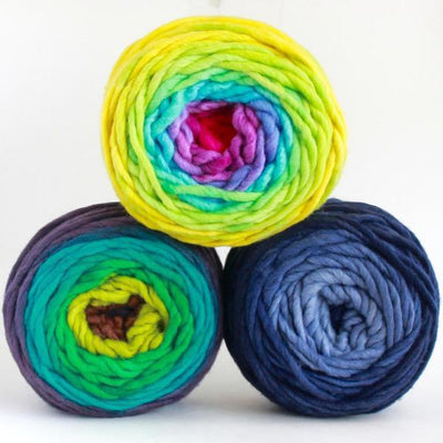 | Freia Fine Handpaints Ombre Super Bulky Yarn | Twisted
