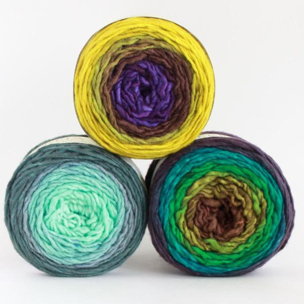 | Freia Fine Handpaints Ombre Worsted Yarn | Twisted