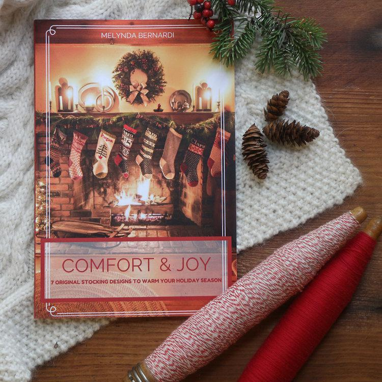 Comfort and Joy: 7 original stocking patterns to warm your holiday season by French Press Knits | Twisted