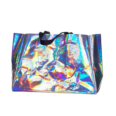 | Holographic Project Bag by Hedgehog Fibres | Twisted