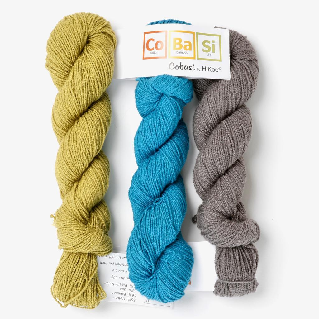 | HiKoo CoBaSi Fingering Yarn | Twisted