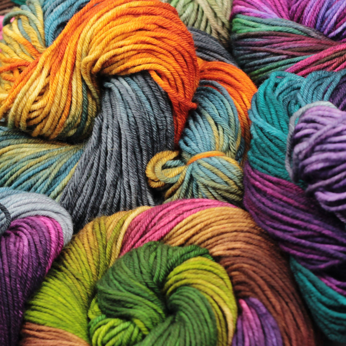 | Huckleberry Knits American Dream Rambouillet Worsted Yarn | Twisted