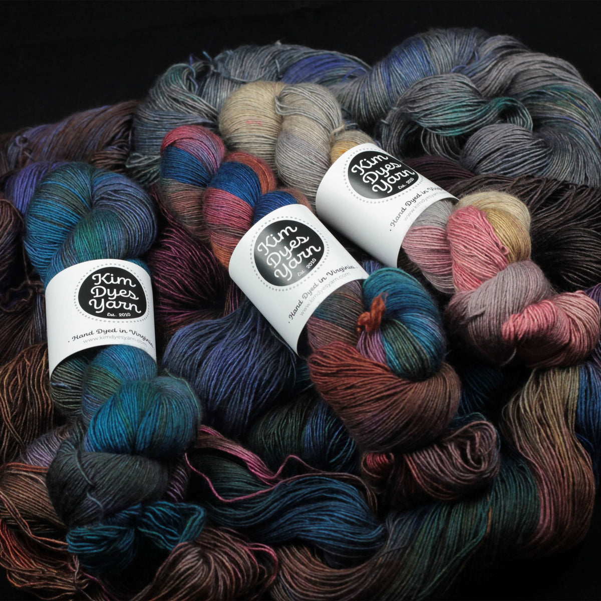 | Profiterole Fingering Yarn by Kim Dyes Yarn | Twisted
