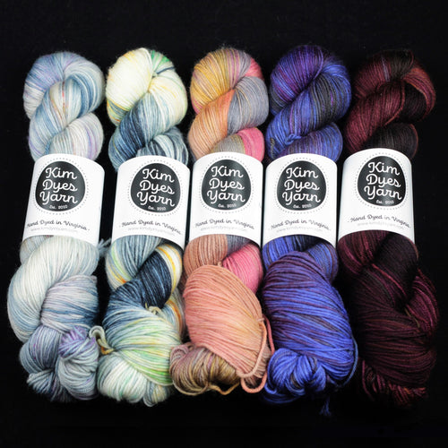 | Tartlet Sport Yarn by Kim Dyes Yarn | Twisted