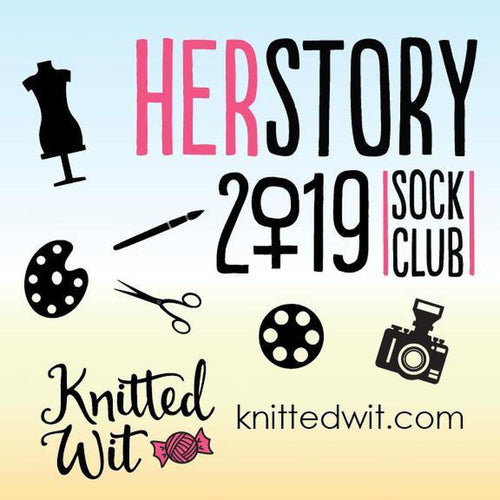 | Knitted Wit HerStory Club - Victory Sock Yarn | Twisted