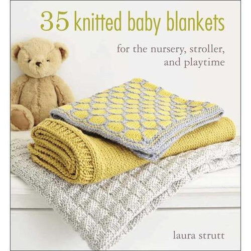 35 Knitted Baby Blankets by Laura Strutt | Twisted