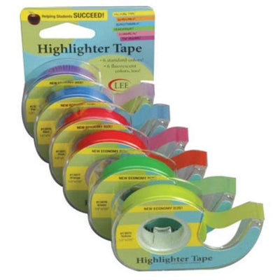 All Colors | Highlighter Tape from Lee Products | Twisted
