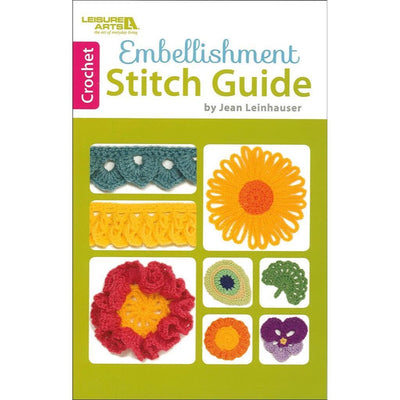 Crochet Embellishment Stitch Guide by Leisure Arts | Twisted