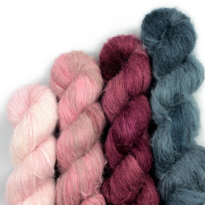 | Less Traveled Yarn Baby Suri Yarn | Twisted