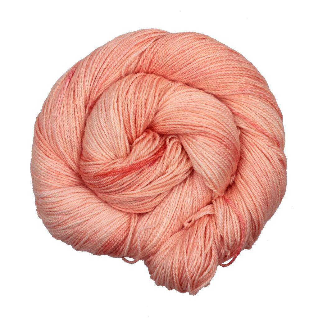 Coy Coral | Less Traveled Yarn Dreamliner Yarn | Twisted