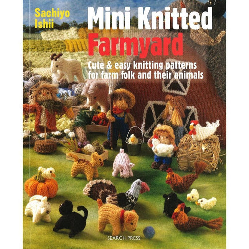 Mini Knitted Farmyard by Sachiyo Ishii | Twisted