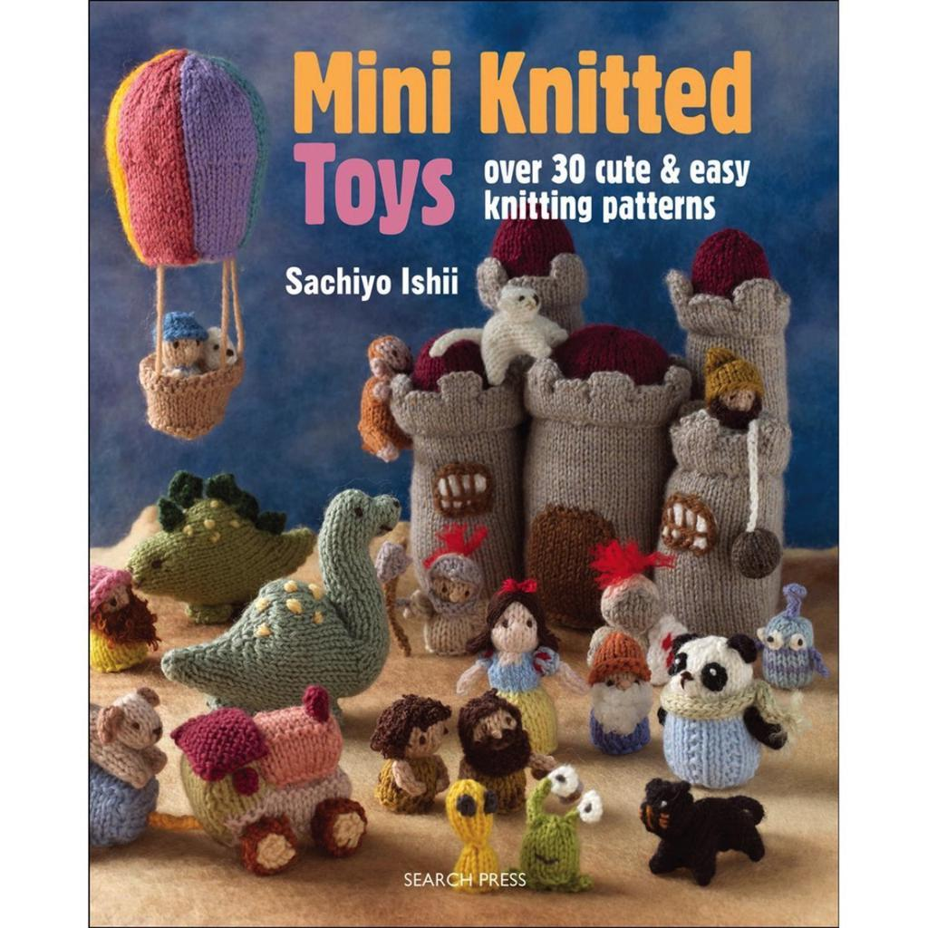 Mini Knitted Toys by Sachiyo Ishii | Twisted