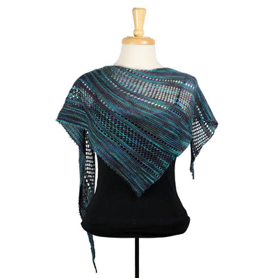 Ardent Shawl in BMFA Soft Rock | Sample Garment | Twisted